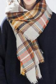 coco Plaid Blanket Scarf - Product Mini Image