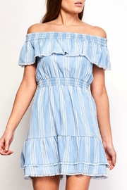 BB Dakota Coco Shoulder Dress - Front cropped