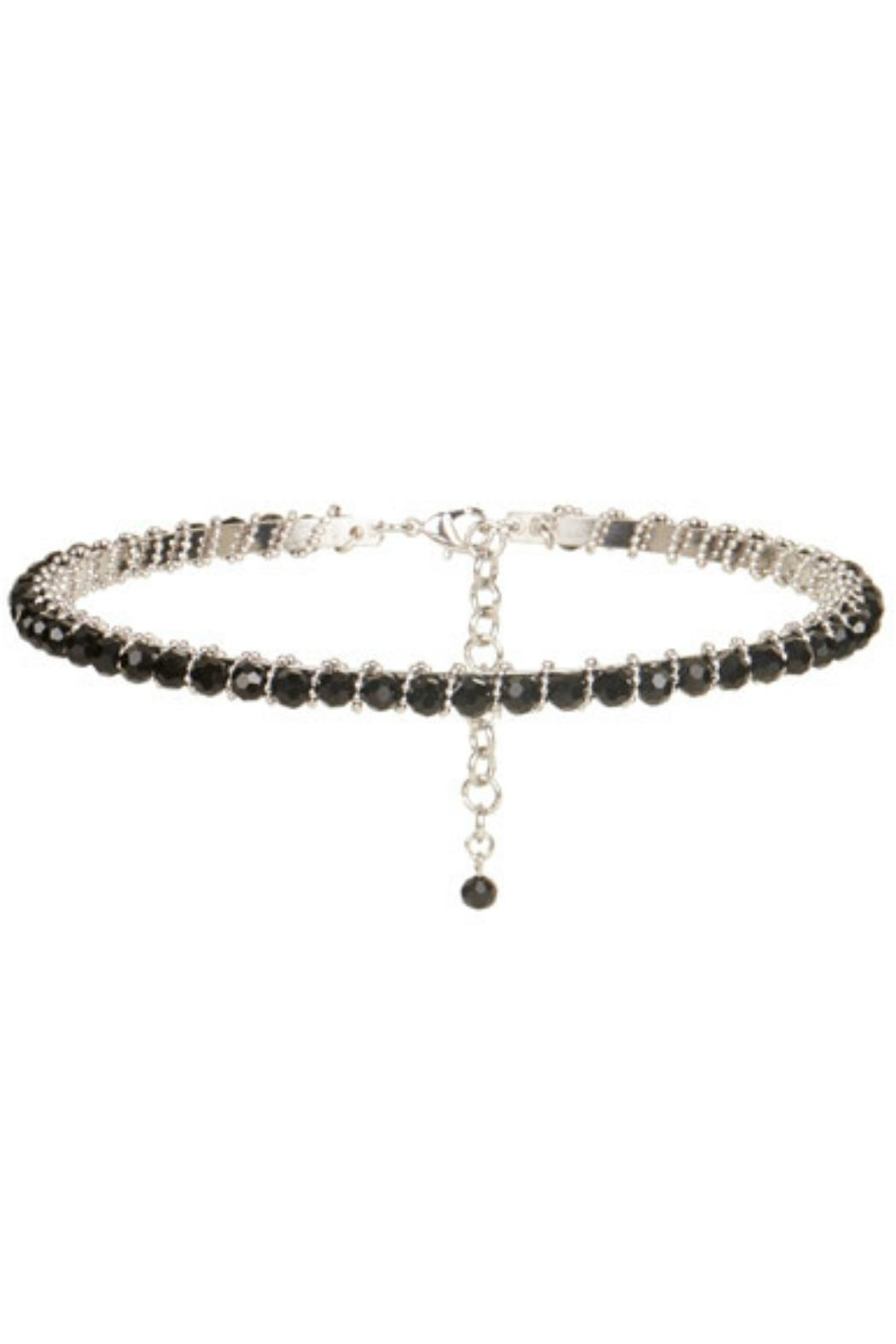 Coco + Carmen Beaded Choker - Front Cropped Image