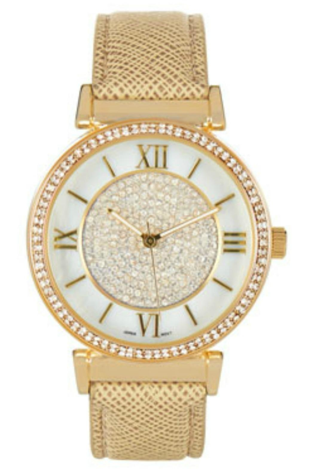 Coco + Carmen Bling Watch - Front Cropped Image