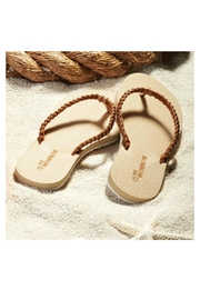 Coco + Carmen Braided Flip Flops - Front cropped