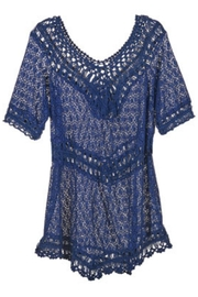 Coco + Carmen Crochet Tunic - Product Mini Image