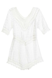 Coco + Carmen Crochet Tunic - Front cropped