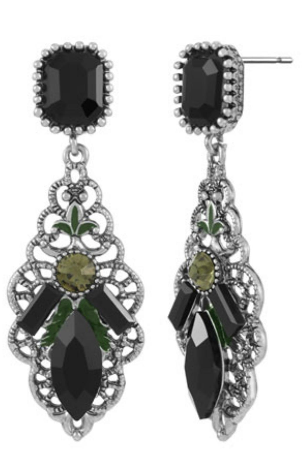 Coco + Carmen Drop Earings - Front Cropped Image