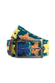 Shoptiques Product: Embroidered Flower Belt
