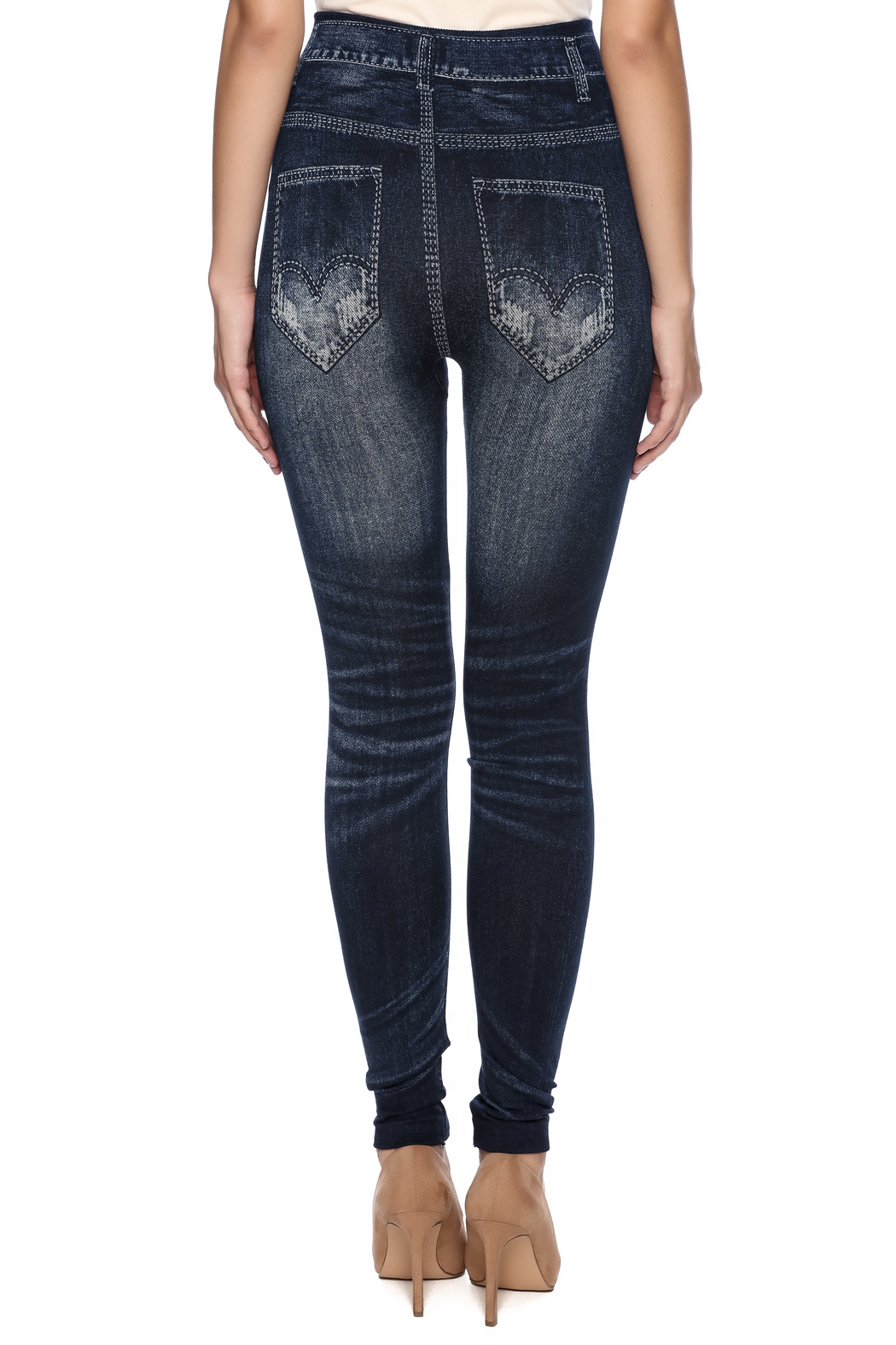 b607c5c7c91e3 Coco + Carmen Faux Denim Leggings from Wisconsin by Ava's a Posh ...