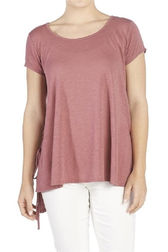 Shoptiques Product: Lace-Up-Side Tee