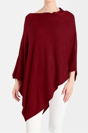 Coco + Carmen Lightweight Poncho - Front cropped