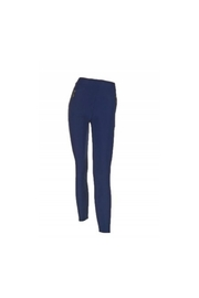 Coco + Carmen Navy Zip Leggings - Product Mini Image