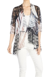 Coco + Carmen Pieced Knit Cardigan - Front cropped
