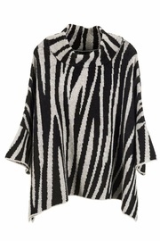 Coco + Carmen Zebra Print Sweater - Front cropped