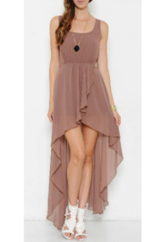 L'atiste Cocoa High Low Maxi - Front cropped
