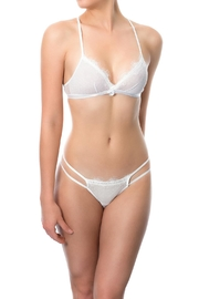 Cocoa Lingerie White Bralette Set - Front cropped