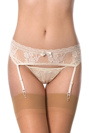 Cocoa Lingerie Lace Thong Set - Front cropped