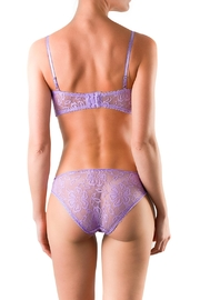 Cocoa Lingerie Purple Balconette Set - Side cropped