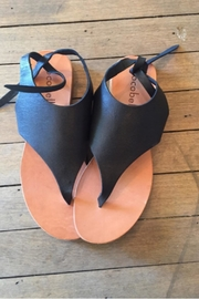 CocoBelle Tye Thong Sandals - Front cropped
