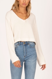 AMUSE SOCIETY Coconut Grove Knit Pullover - Front cropped