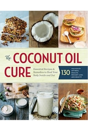 Workman Publishing Coconut Oil Cure - Front cropped