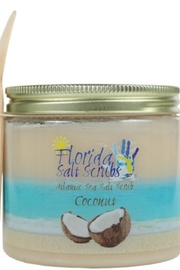 Florida Salt Scrubs Coconut Salt Scrub - Product Mini Image