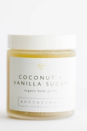 Apothecary Co Coconut + Vanilla Sugar Body Polish - Product Mini Image