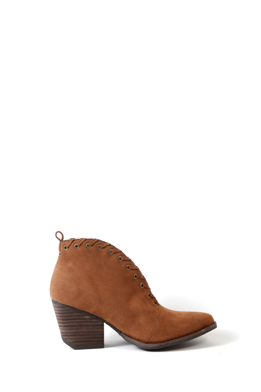 Coconuts by Matisse Alabama Braided Bootie - Side Cropped Image