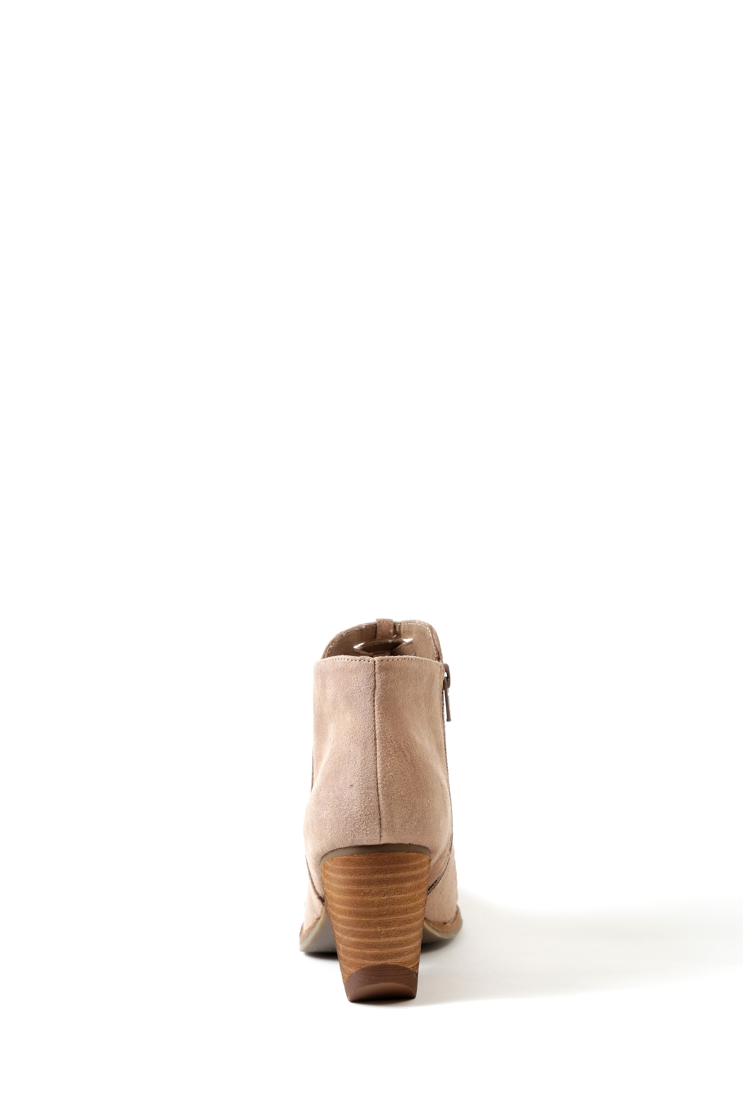 Coconuts by Matisse Ally Stacked Heel Bootie - Front Full Image