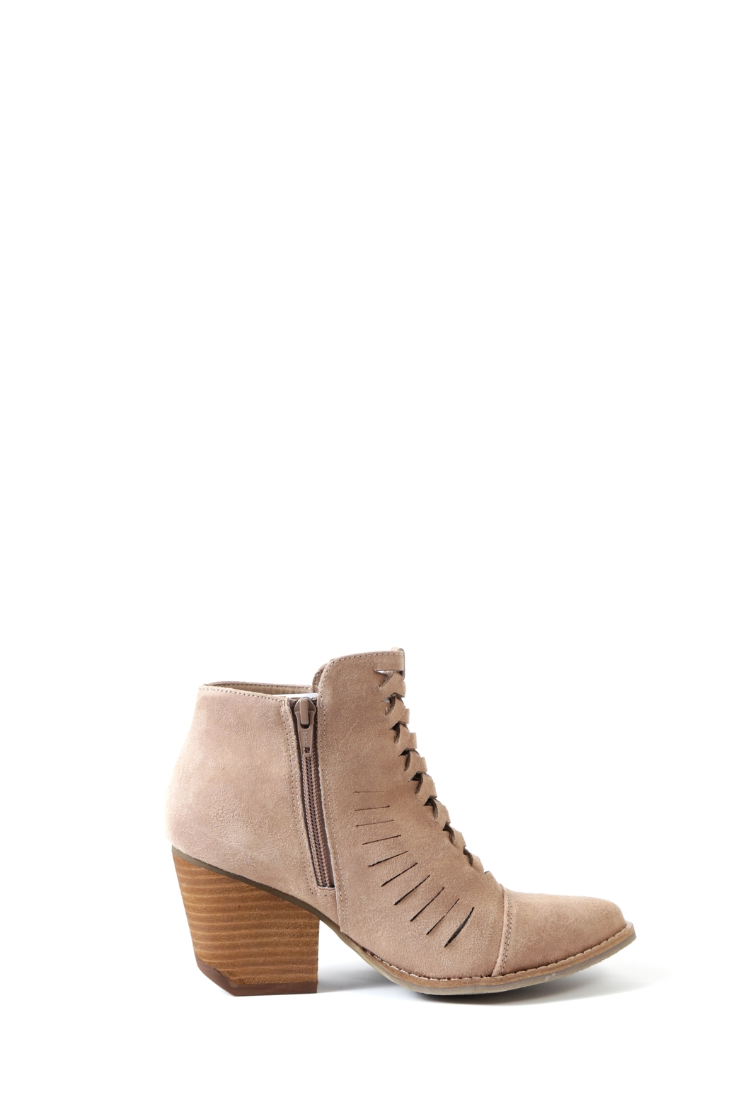 Coconuts by Matisse Ally Stacked Heel Bootie - Side Cropped Image
