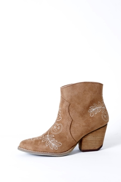 Coconuts by Matisse Axis Embroidered Boot - Product List Image