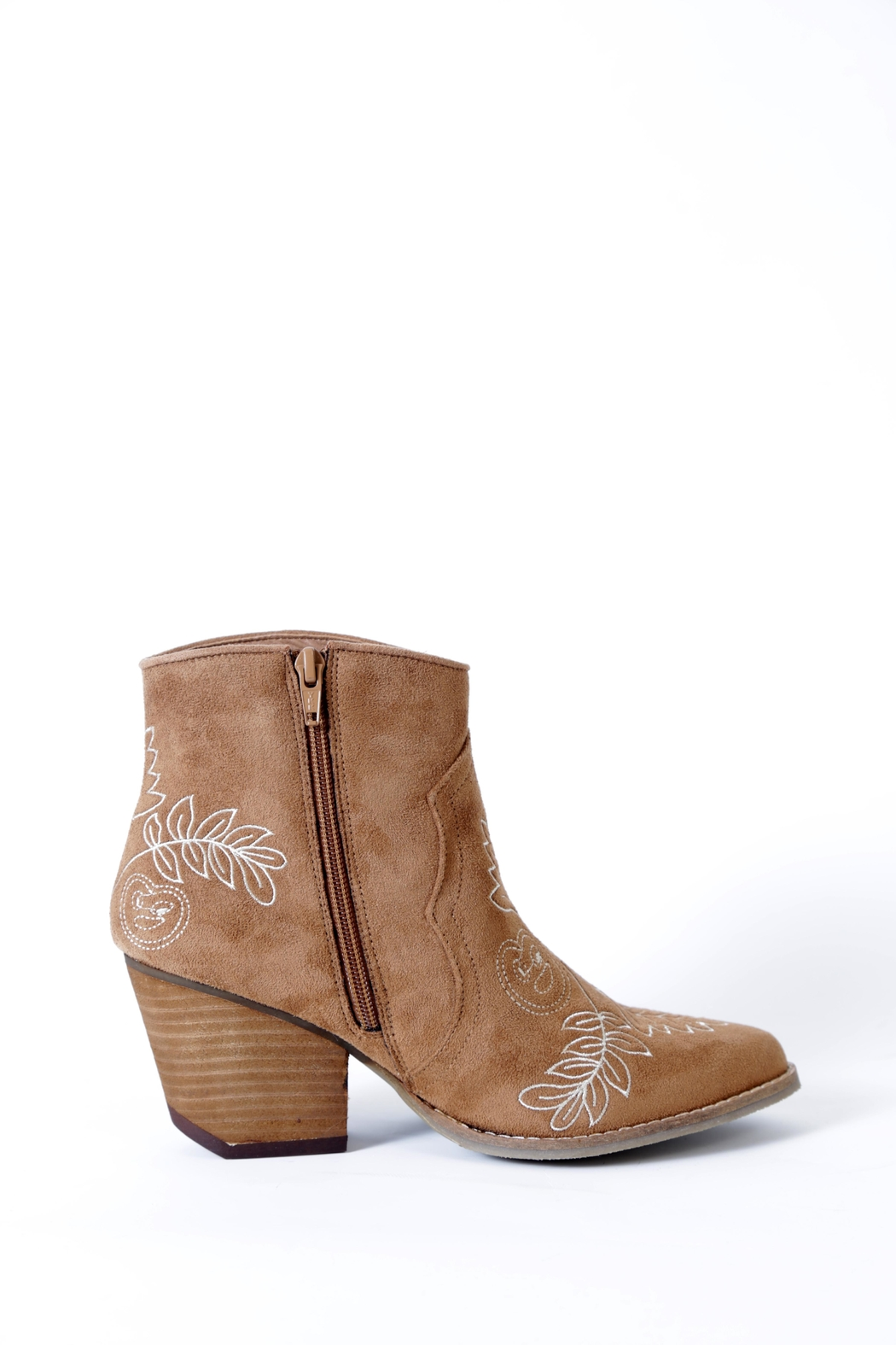 Coconuts by Matisse Axis Embroidered Boot - Side Cropped Image