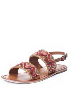 Shoptiques Product: Beaded Leather Sandal