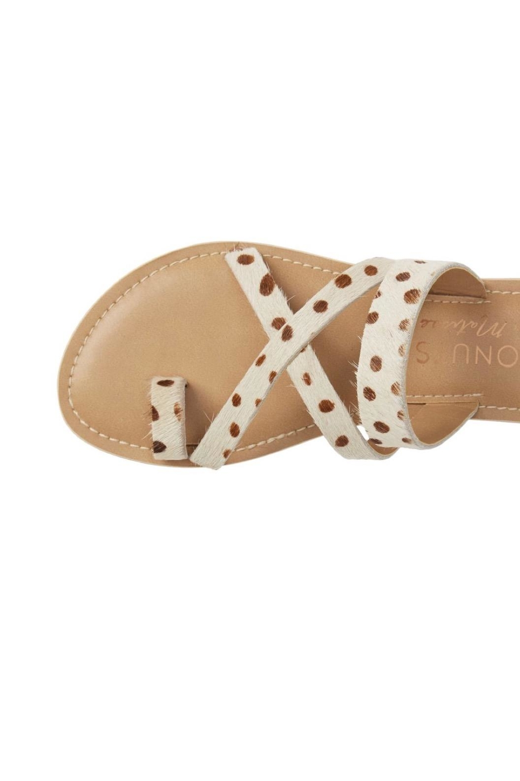 Coconuts by Matisse Cow Strapped Sandals - Main Image