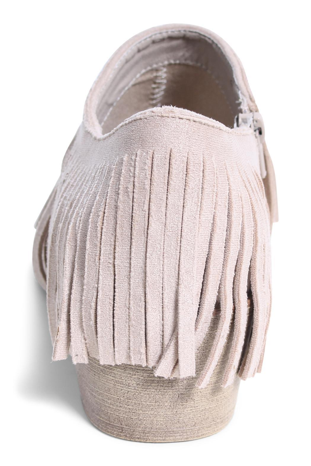 Coconuts by Matisse Fringe Shoe Bootie - Front Full Image