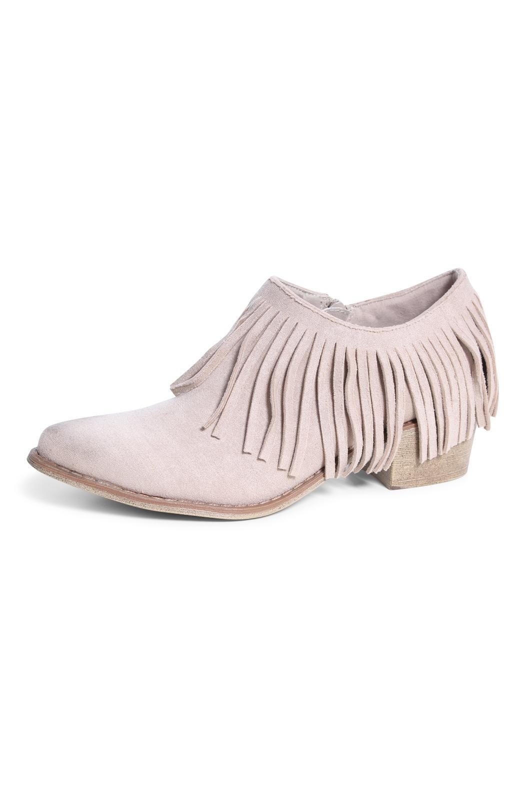 Coconuts by Matisse Fringe Shoe Bootie - Main Image
