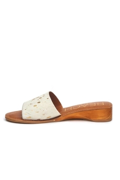 Coconuts by Matisse Fur Gold Slide - Product List Image