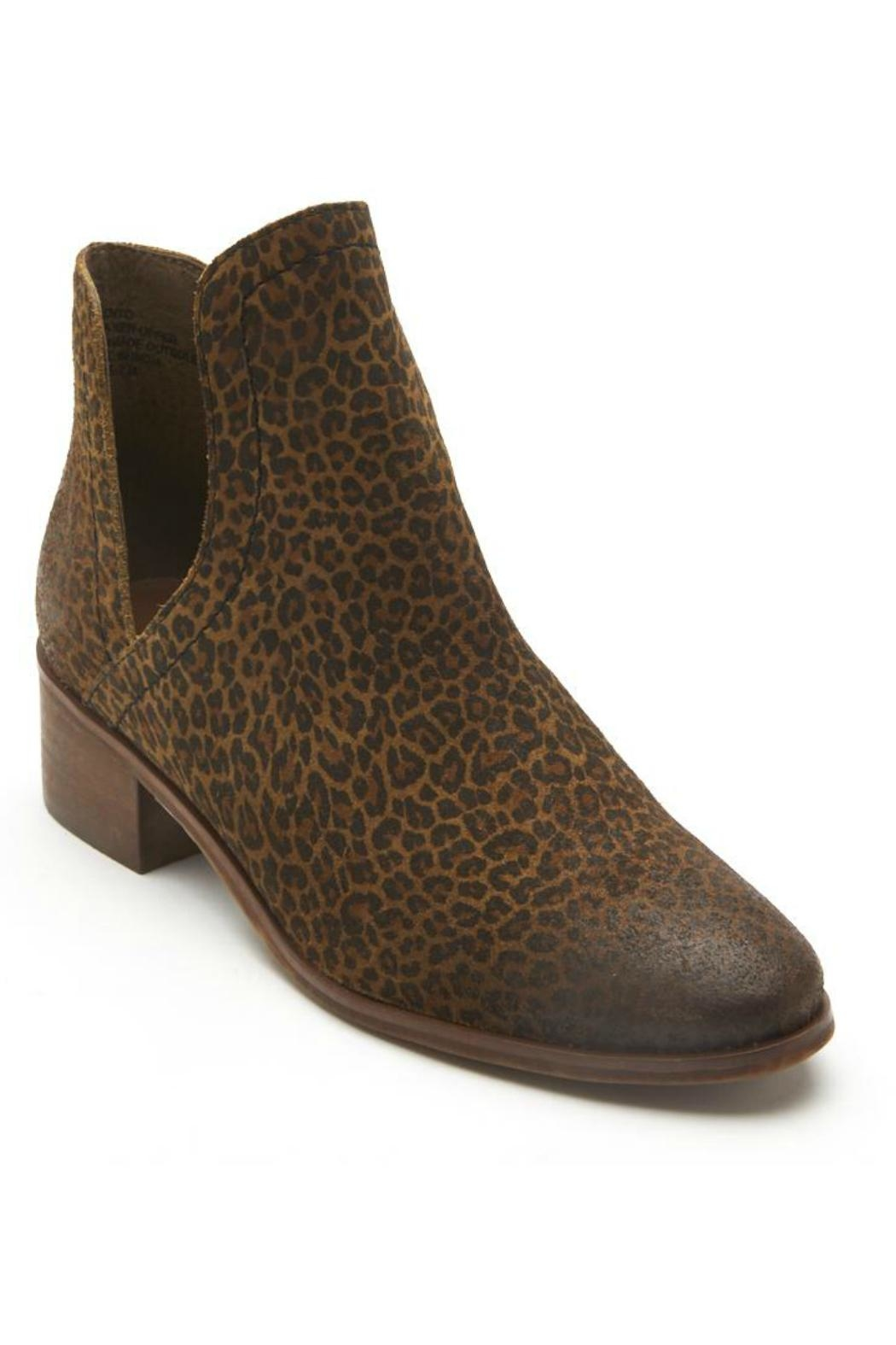 Coconuts by Matisse Leopard Bootie from
