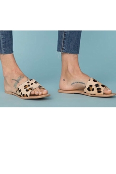 Coconuts by Matisse Leopard Leather Sandal - Alternate List Image