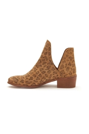 Coconuts by Matisse Panther Booties - Front full body