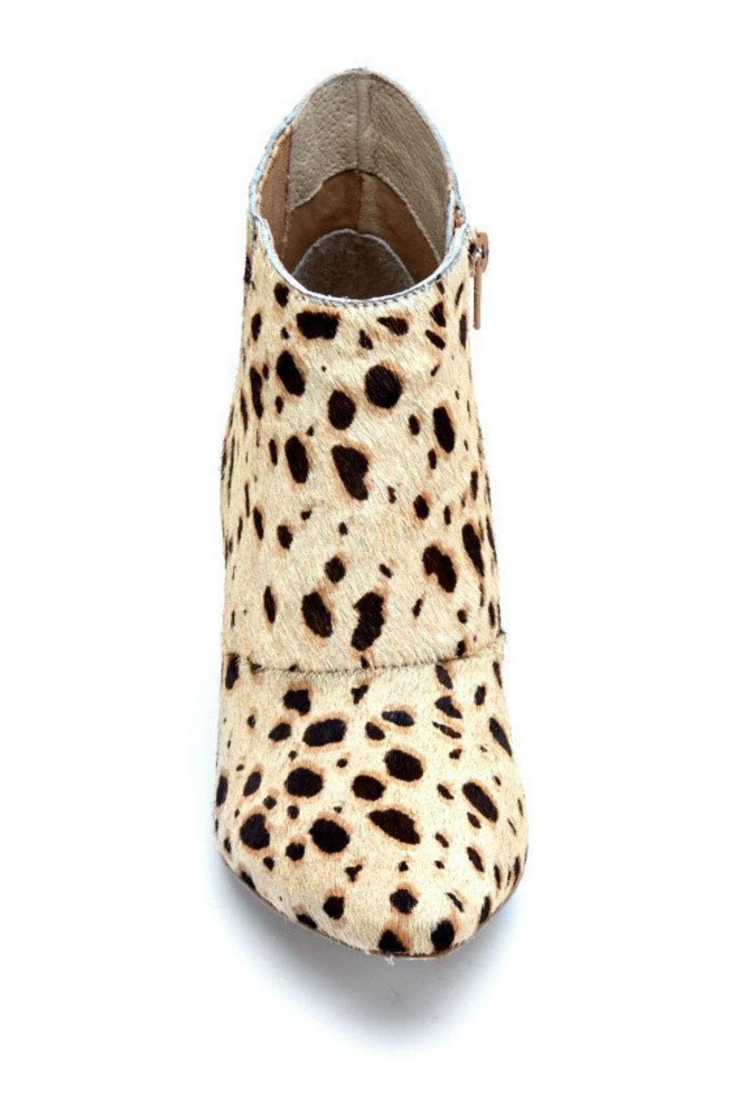 Coconuts by Matisse Ponyhair Wedge Bootie - Back Cropped Image