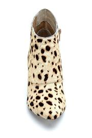 Shoptiques Product: Ponyhair Wedge Bootie - Back cropped