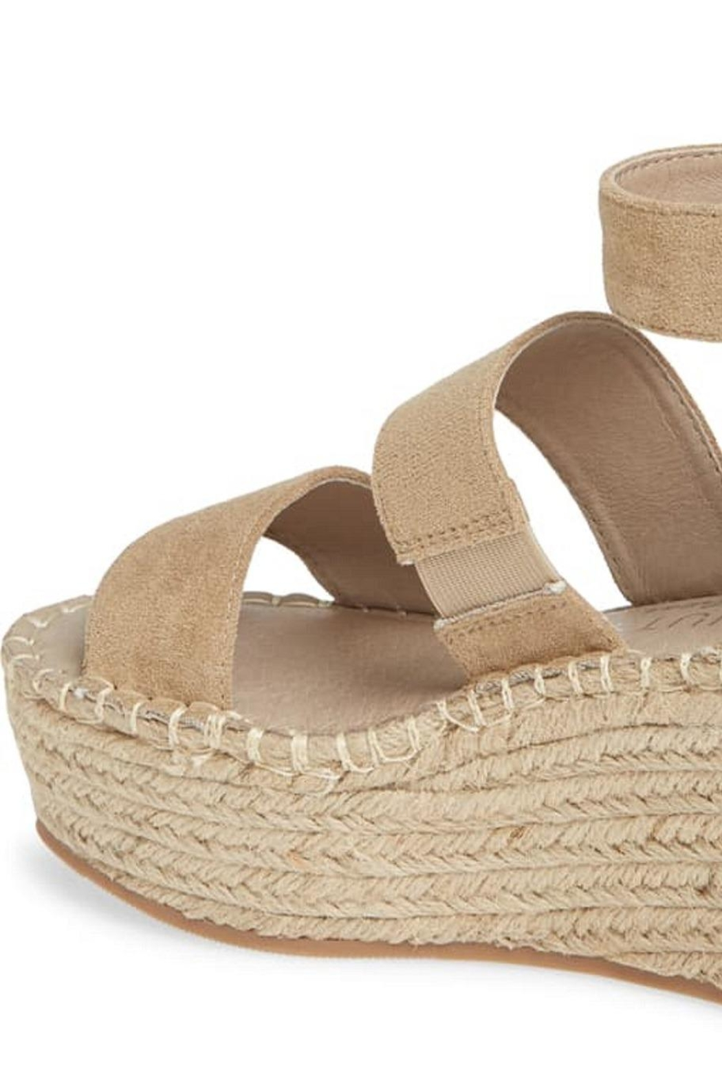 Coconuts by Matisse Soire Natural Wedge - Front Full Image