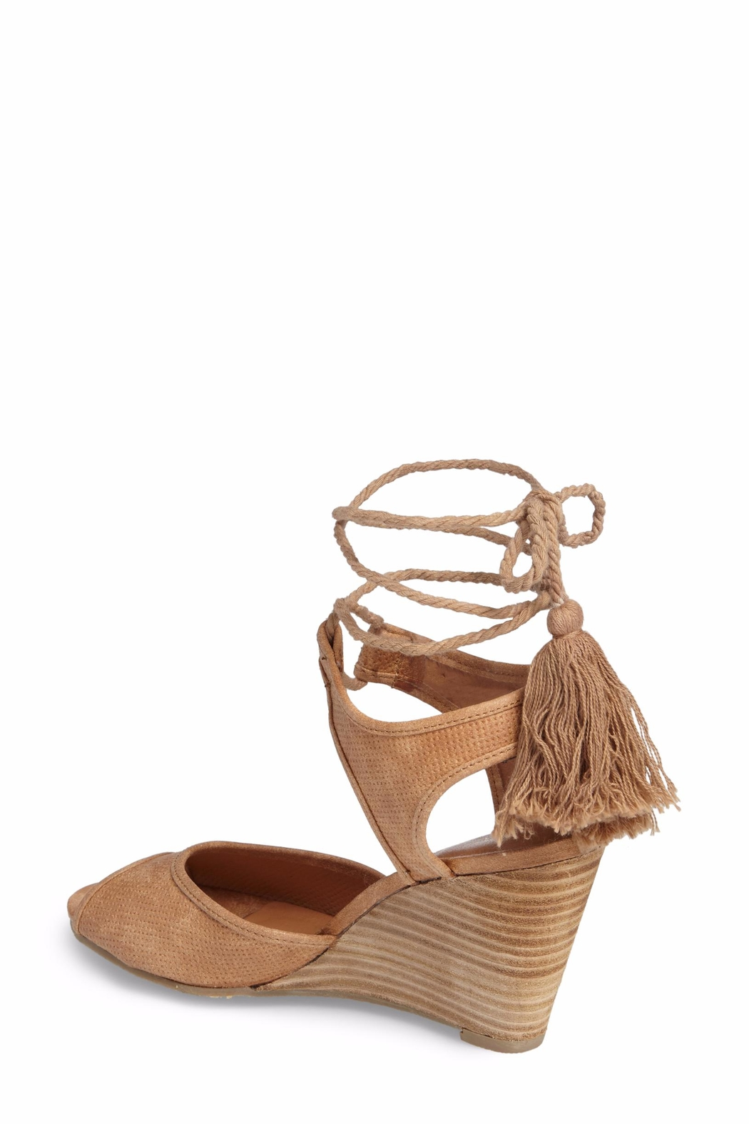 Coconuts by Matisse Unify Wrap Wedge Sandal - Front Full Image