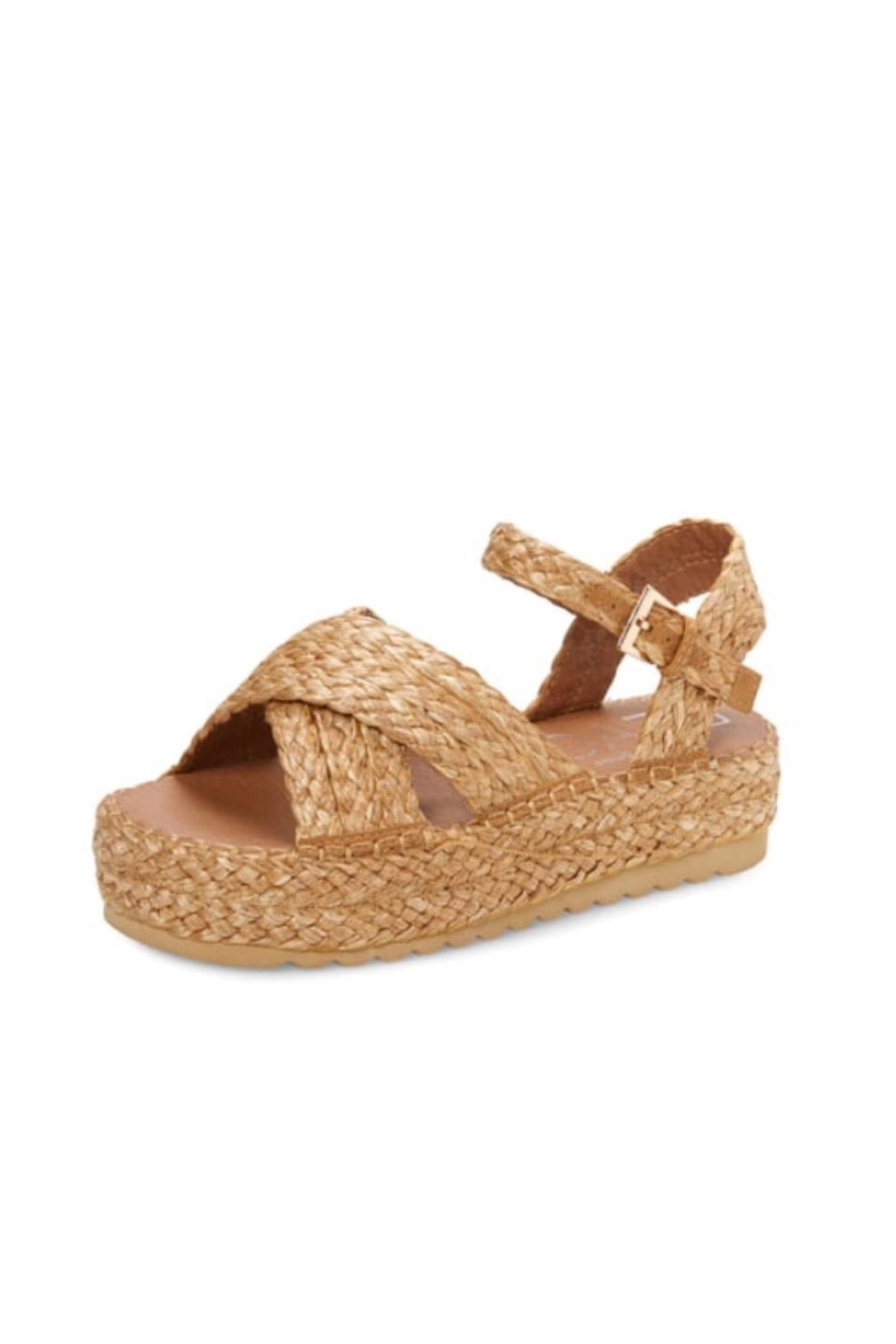 Coconuts by Matisse Wicker Platform - Main Image