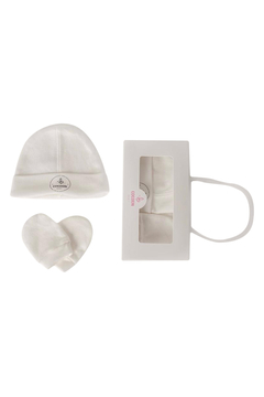 Cocoon Baby Newborn hat and Mittens Designed Specially for Baby Shower Gifting - Alternate List Image