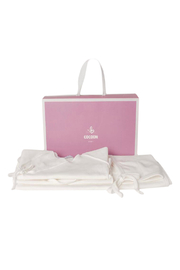 Cocoon Baby Take Me Home Layette Gift Set (Bonnet,Wrap Top,Pant & Blanket) - Front cropped