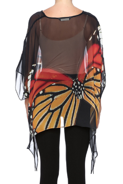 Cocoon House Monarch Silk Poncho - Alternate List Image