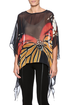 Shoptiques Product: Monarch Silk Poncho