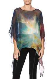 Cocoon House Nebula Silk Poncho - Product Mini Image