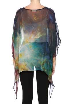 Cocoon House Nebula Silk Poncho - Alternate List Image