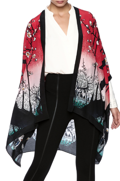 Shoptiques Product: Silk Cherry Tree Kimono