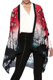 Cocoon House Silk Cherry Tree Kimono - Product Mini Image